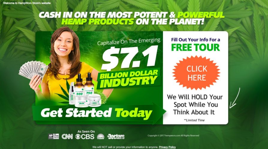 hempworx affiliate sign up