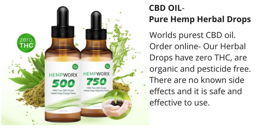CBD Oil pure hemp drops