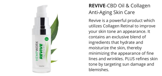 CBD Oil Revive anti aging cream