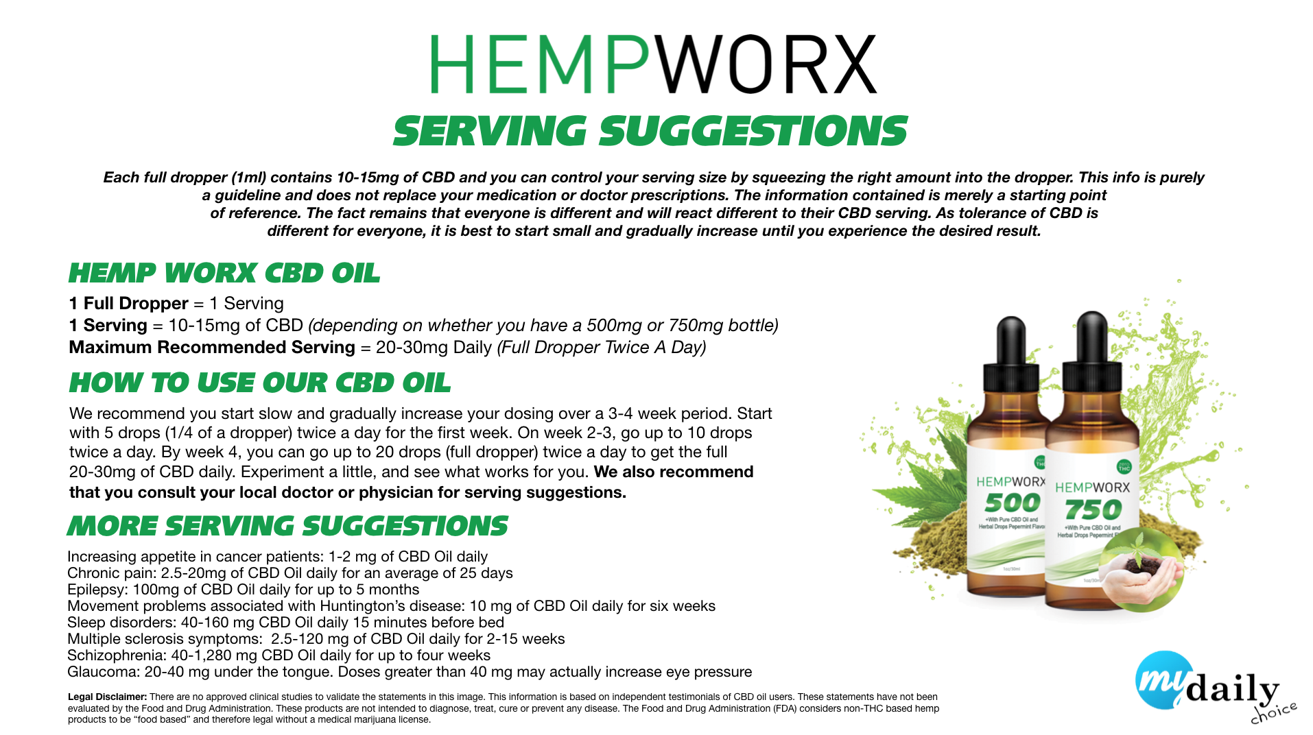 hempworx 750 cbd oil dosage
