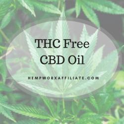 hempworx THC FREE cbd oil