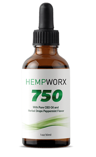 Hempworx 750 CBD Oil for Diabetes